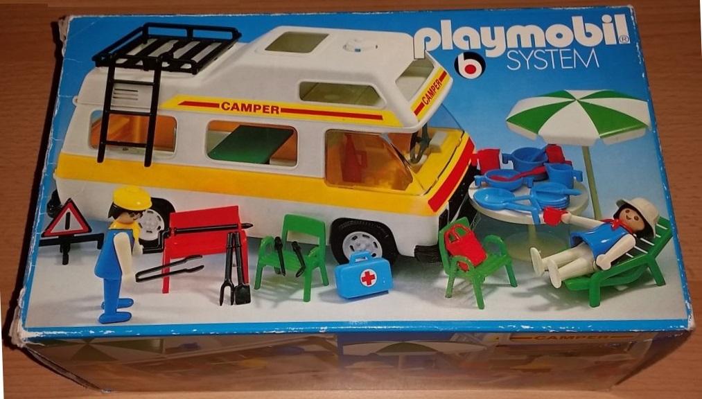 Playmobil 3258v1 - Family camper - Box