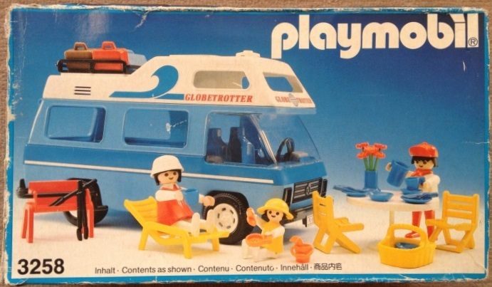 Playmobil 3258v4 - Family camper - Box