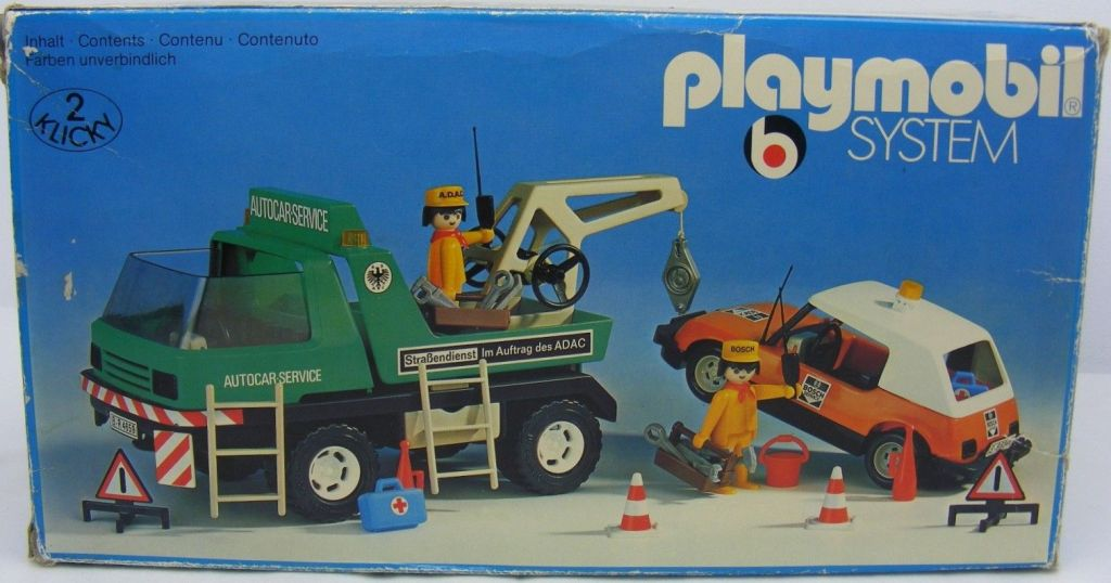 Playmobil 3473v1 - Tow Truck - Box
