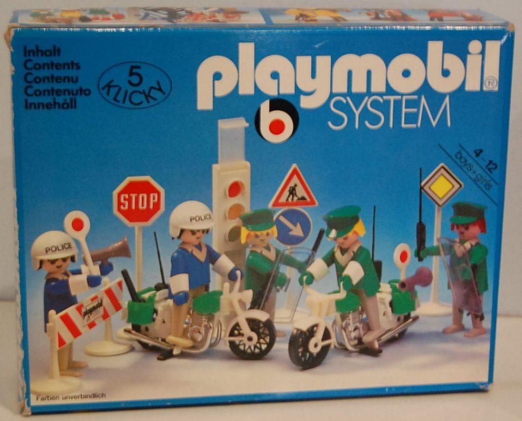 Playmobil 3488 - Policemen - Box