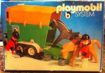 Playmobil 3505 - Horse Trailer - Box