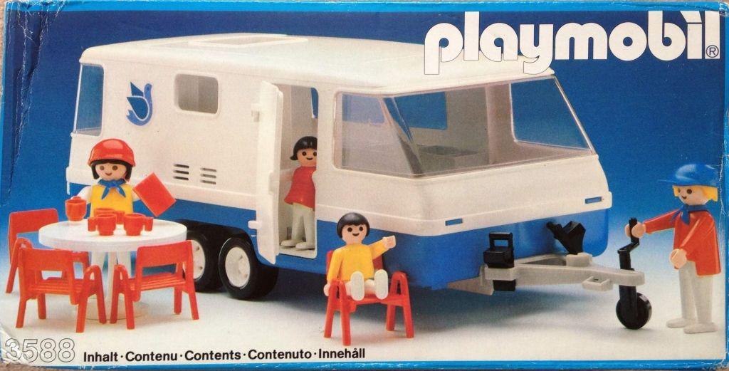 Playmobil 3588 - Caravan - Box