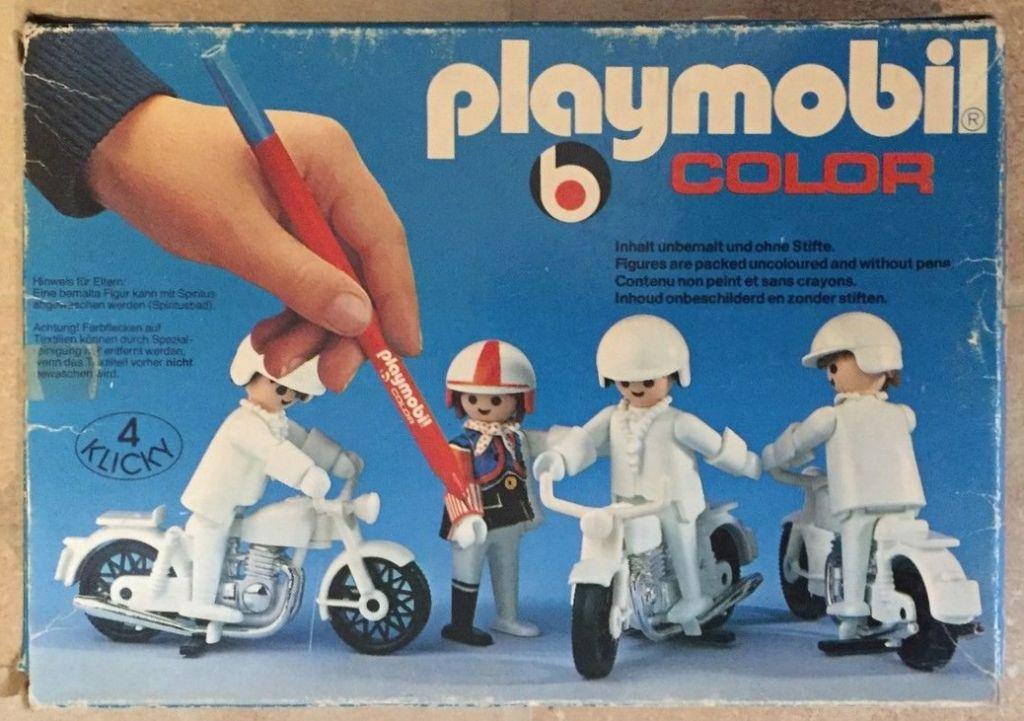 Playmobil 3616 - Bikers - Box