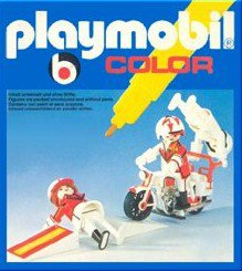 Playmobil 3641 - Motor Daredevils - Back
