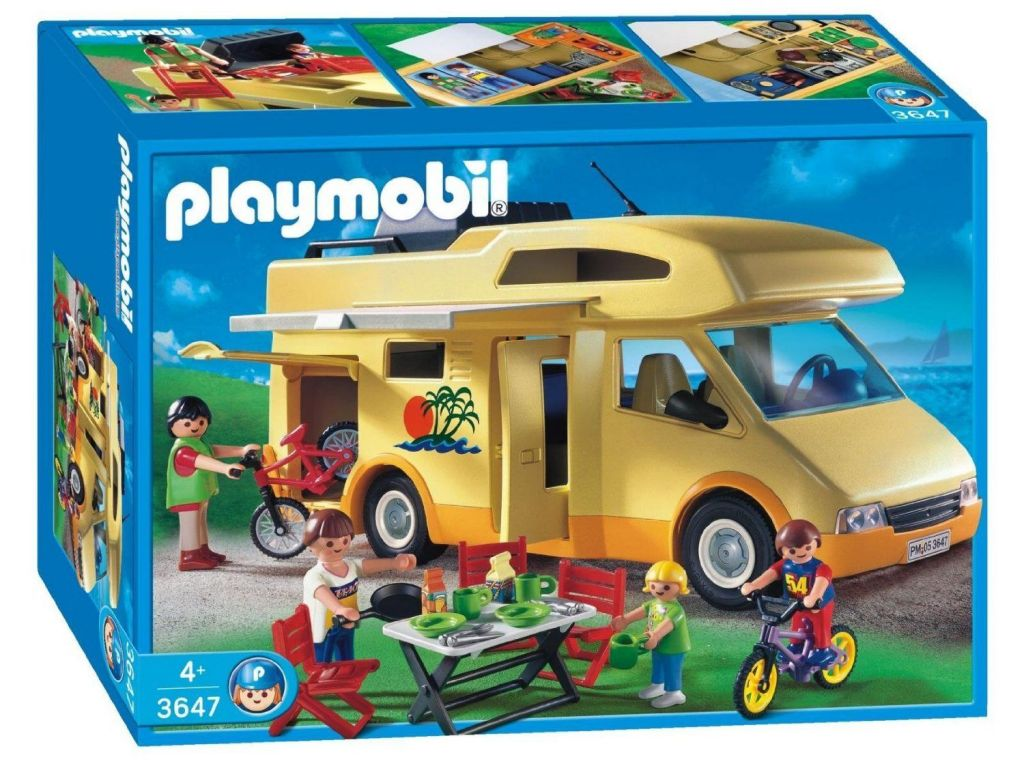 Playmobil 3647 - Family Camper - Box
