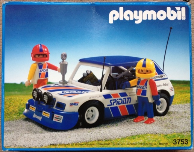 Playmobil Racing Car Blue