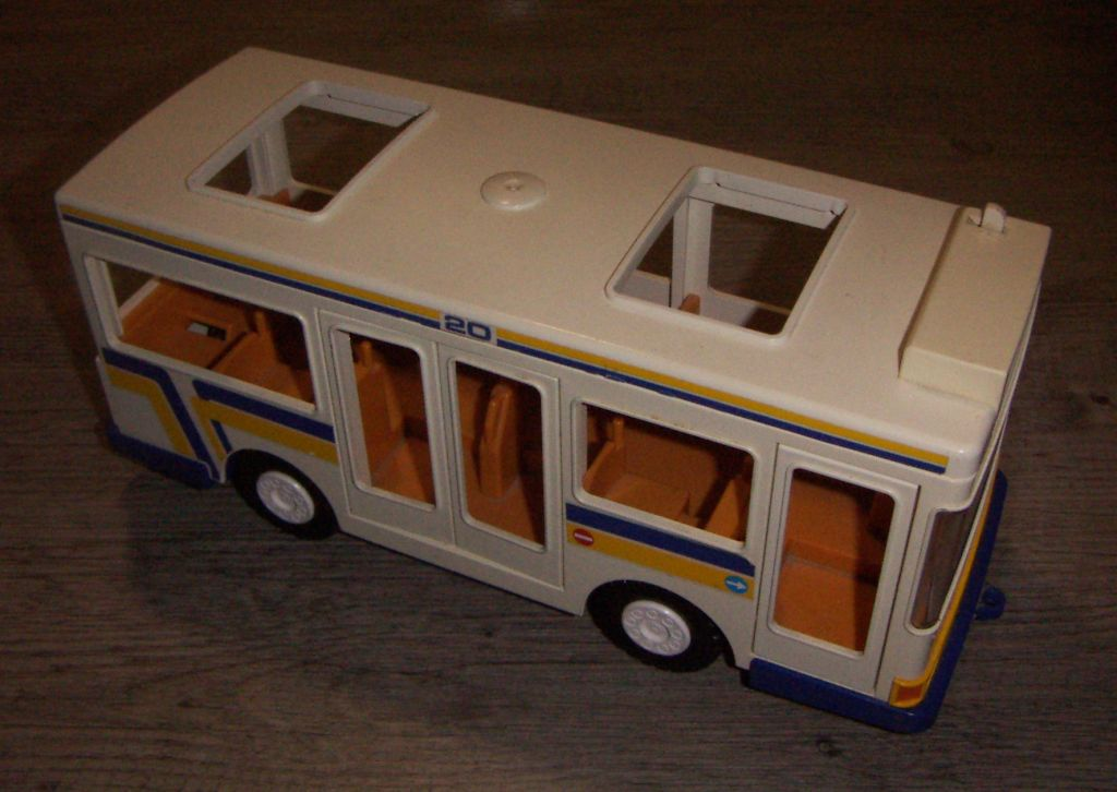 Playmobil 3782 - City Bus And Shelter - Back