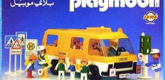 Playmobil - 3L55-lyr - School bus