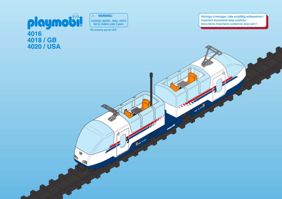 Playmobil 4018-ukp - Radio Control Express - Box