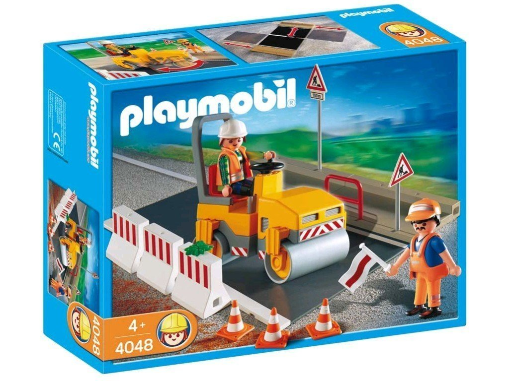 Playmobil 4048 - Steamroller - Box