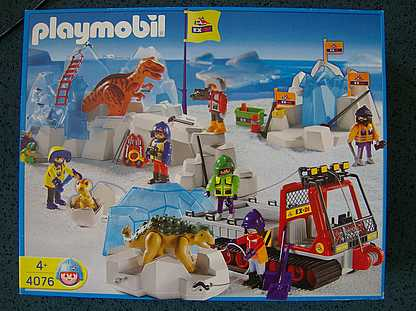 Playmobil 4076-ger - Dinosaur Combo Set - Box