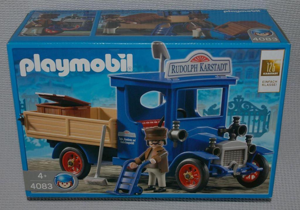Playmobil 4083-ger - Victorian Oldtimer Truck - Box