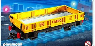 Playmobil - 4126 - Low side Freight Car