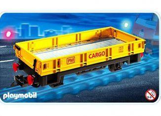 Playmobil - 4126 - Niederbordwagen
