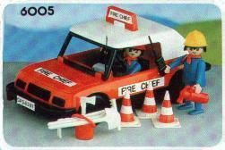 Playmobil - 6005-lyr - Fireman's car