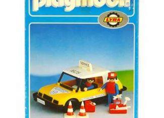 Playmobil - 6006-lyr - Mechanic car