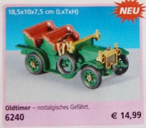 Playmobil 6240 - Classic Car - Back