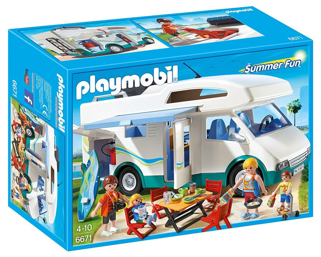 Playmobil 6671 - Family camper - Box
