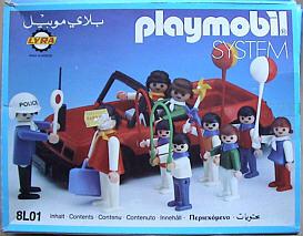 "Playmobil - 8L01-lyr -  "" Children & teacher in the city """