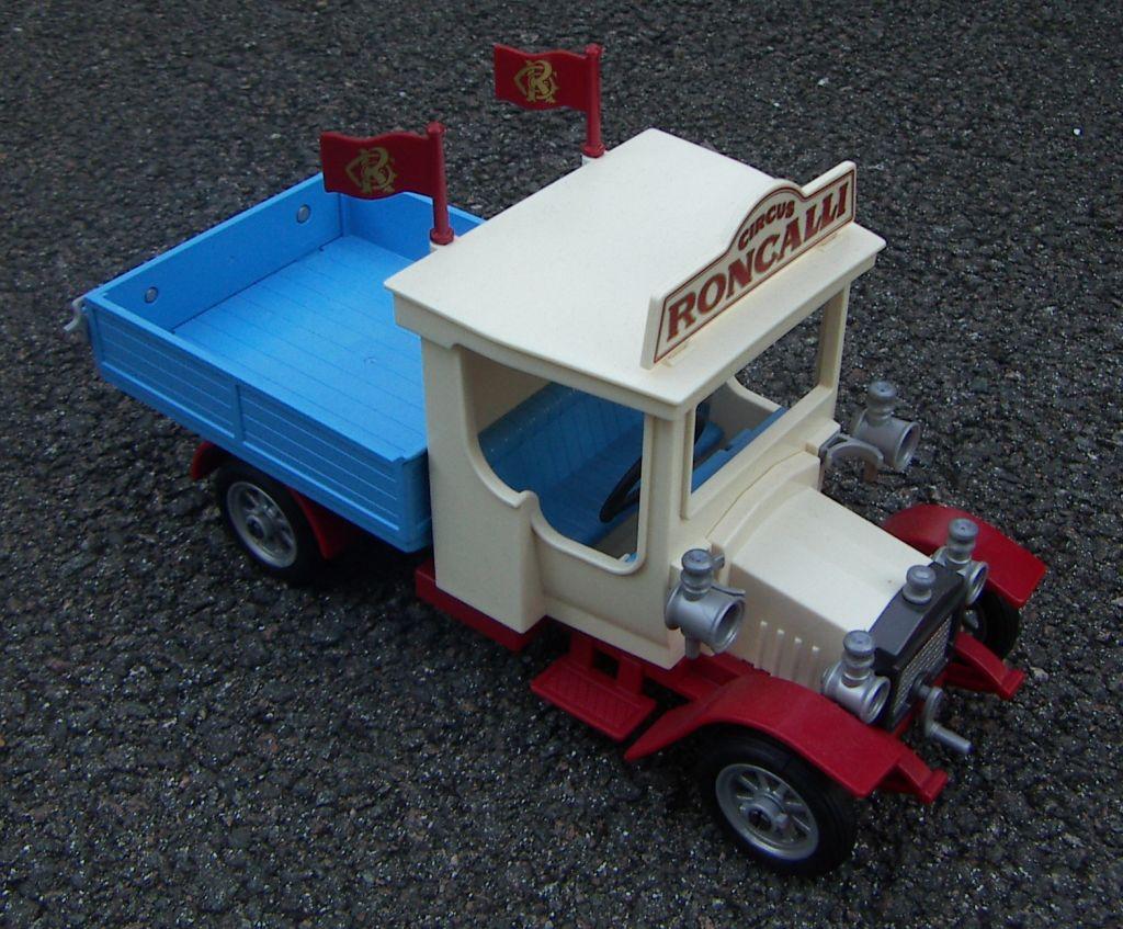 Playmobil 9042 - Roncalli Vintage Truck - Back