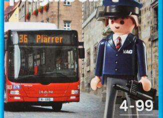 Playmobil - 9232-ger - Bus driver