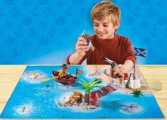 Playmobil - 9328 - Play Map Piratas