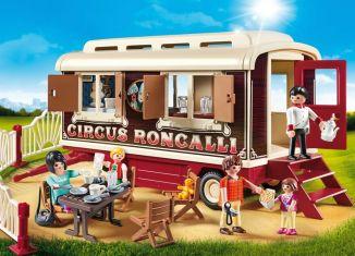 Playmobil - 9398 - Circus Roncalli Caravan