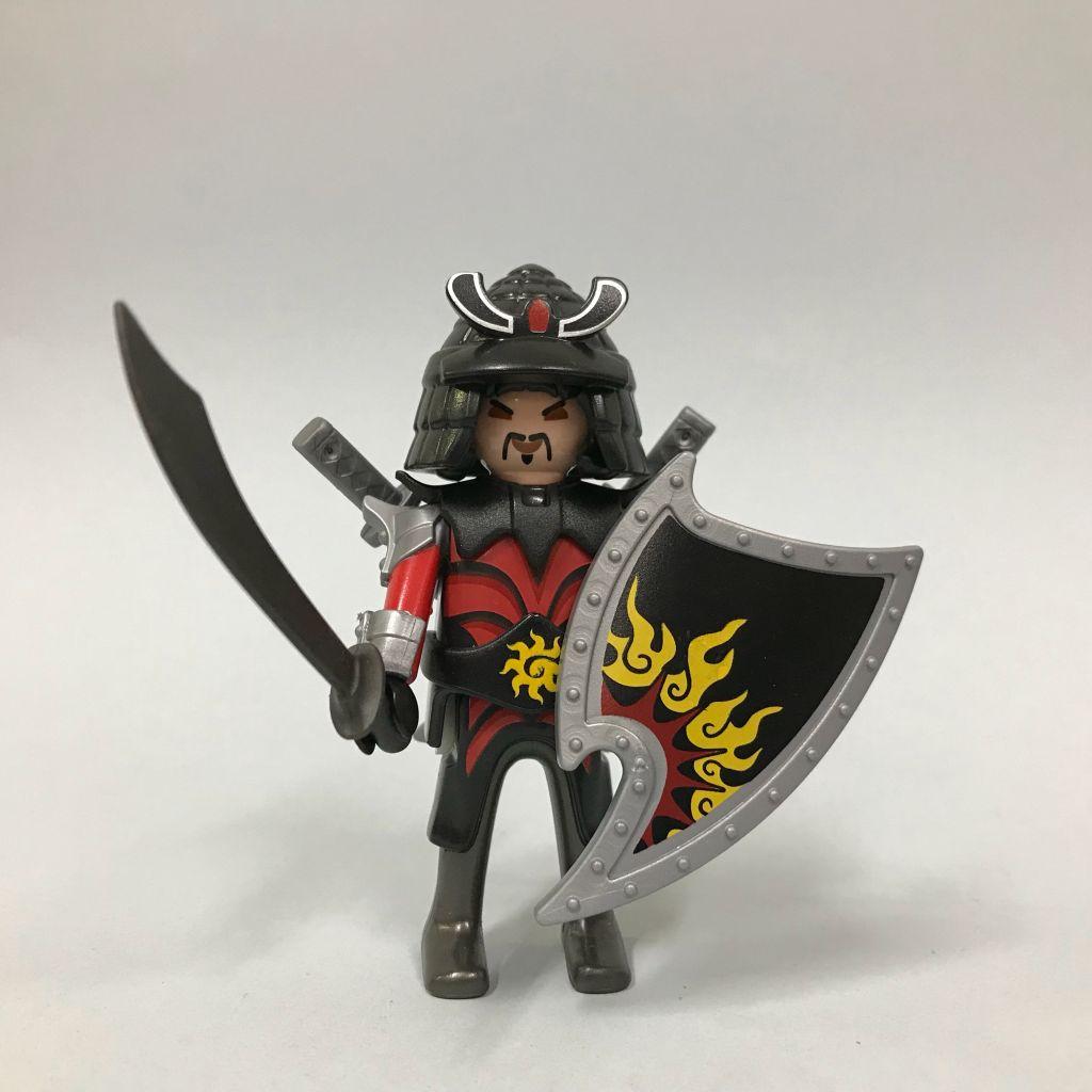 Playmobil 0000-ger - Nüremberg Toy Fair Give-away Asian Warrior - Back