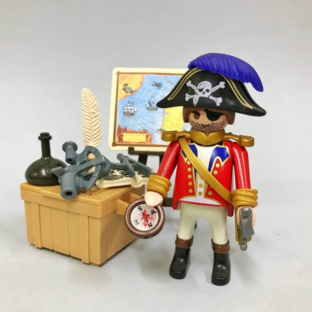Playmobil 4293 - Pirate captain - Back