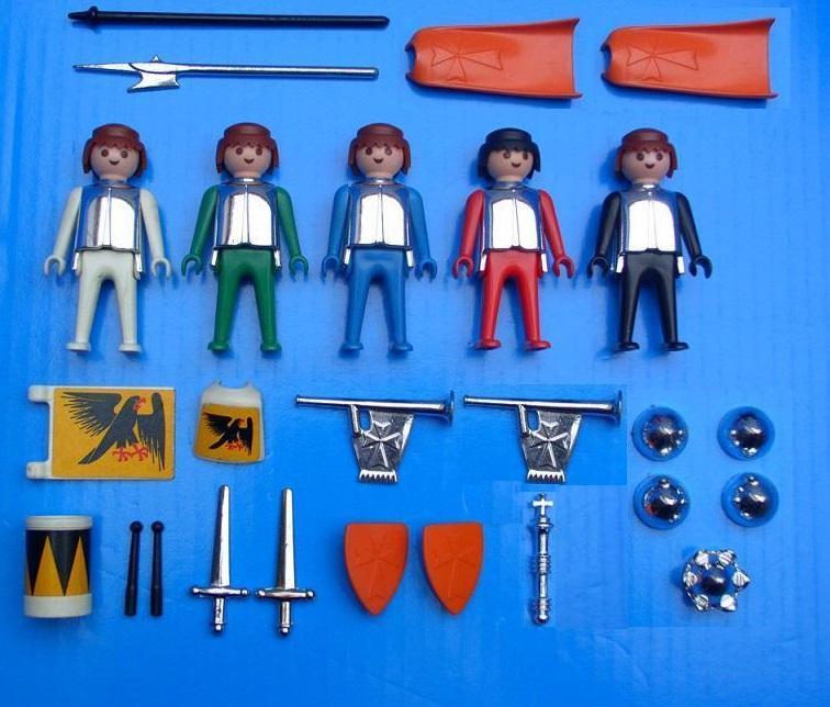 Playmobil 3261v2 - Knights - Back