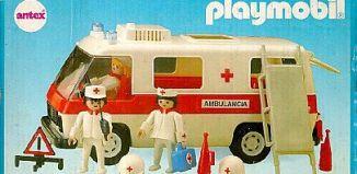 Playmobil - 3254v2-ant - Ambulance