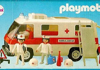 Playmobil - 3254v2-ant - Ambulance