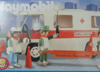 Playmobil - 3254v3-ant - Ambulance