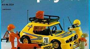 Playmobil - 3524-ant - Yellow Rally car