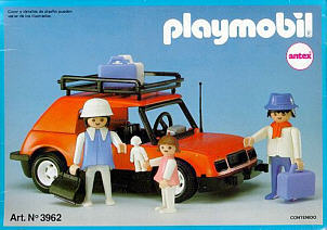 Playmobil - 3962v1-ant - Car with family