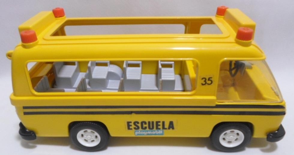 Playmobil 13170-aur - Schoolbus - Back