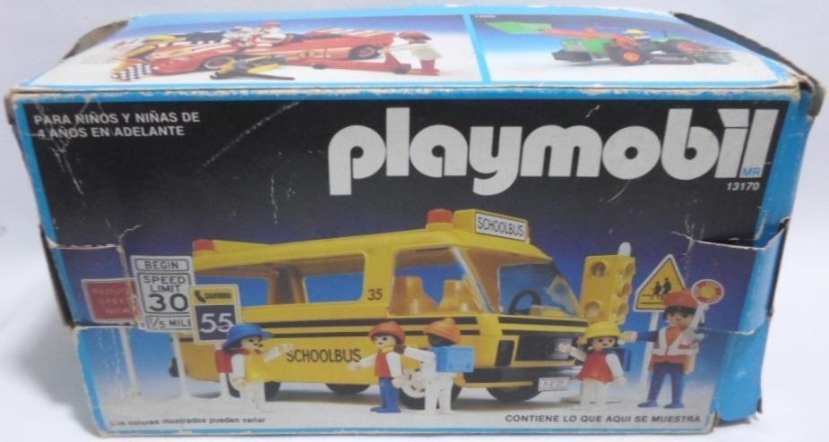 Playmobil 13170-aur - Schoolbus - Box