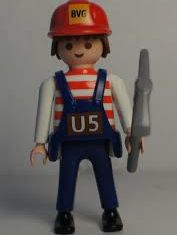 Playmobil - 00000-ger - Maitenance Employee (U5, 2012)