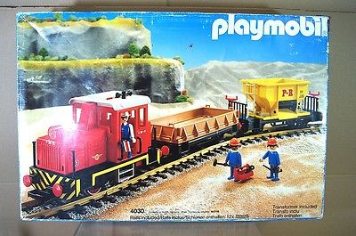 Playmobil 4030-ukp - Diesel Freight Train Set - Box