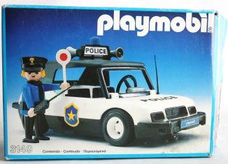 Playmobil - 3149-esp - Voiture de police