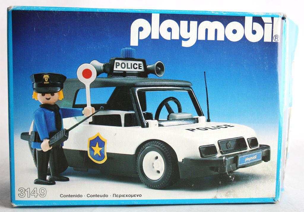 Playmobil Set: 3149-esp - Police car - Klickypedia