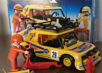 Playmobil - 30.12.10v1-est - Yellow Rally car