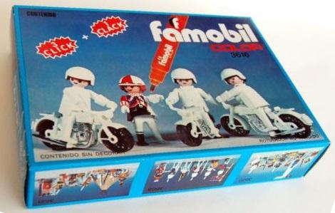 Playmobil 3616-fam - Bikers - Box