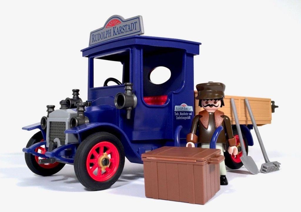 Playmobil 4083-ger - Victorian Oldtimer Truck - Back