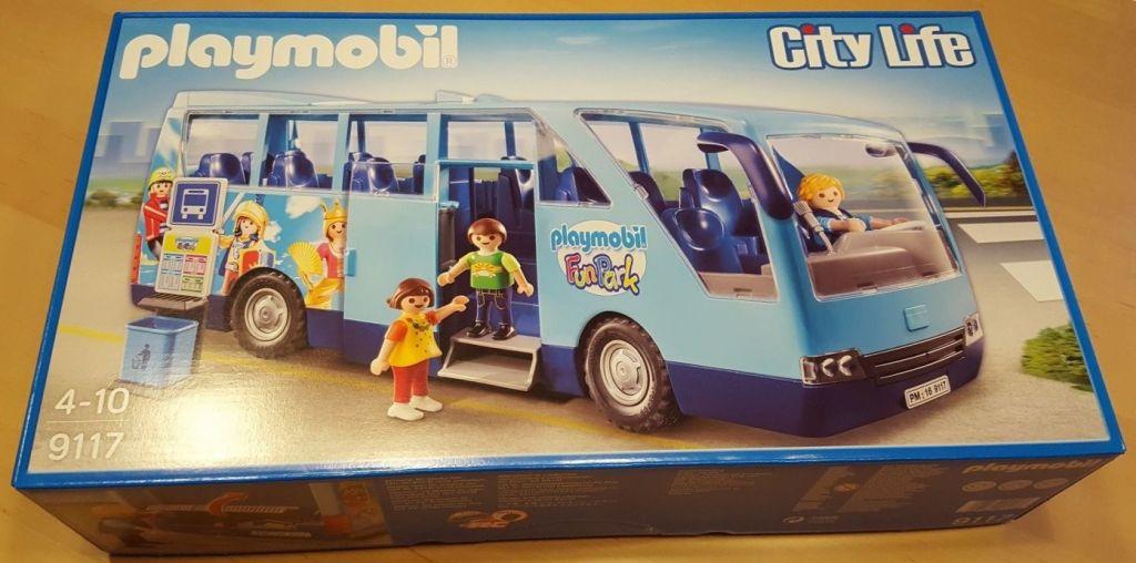 Playmobil 9117-ger - Funpark Bus - Box