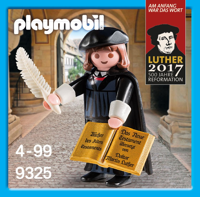 Playmobil 9325-ger - Martin Luther - Box