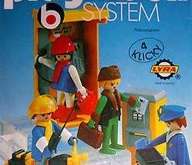 Playmobil - 3221-lyr - Phone Booth and Mailmen