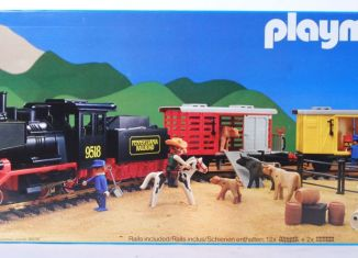 Playmobil - 4031-ukp - Steam Freight Train Set