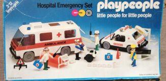 Playmobil - 1749-pla - Hospital Emergency Set