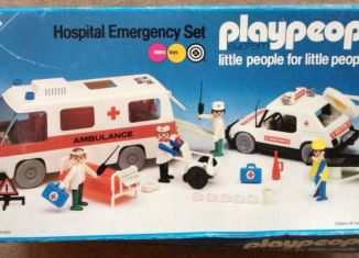 Playmobil - 1749-pla - Hospital Emergency Set